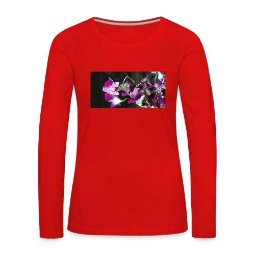 Orchid - Women's Premium Longsleeve Shirt