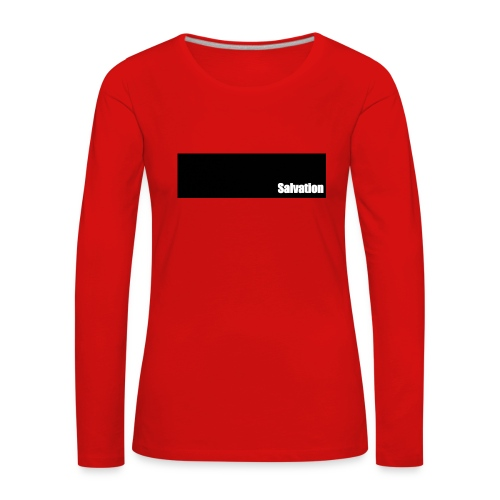 Salvation - Frauen Premium Langarmshirt