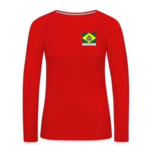 Brazil 200 years independence - Premium langermet T-skjorte for kvinner