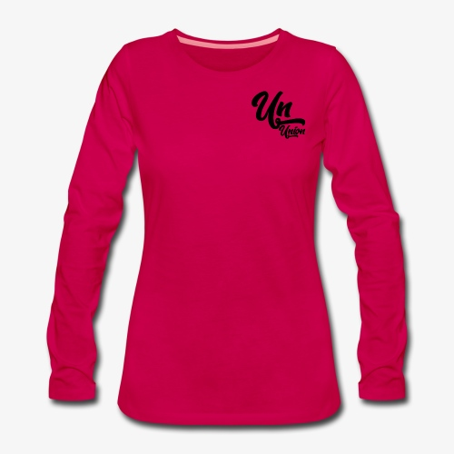 Union - T-shirt manches longues Premium Femme