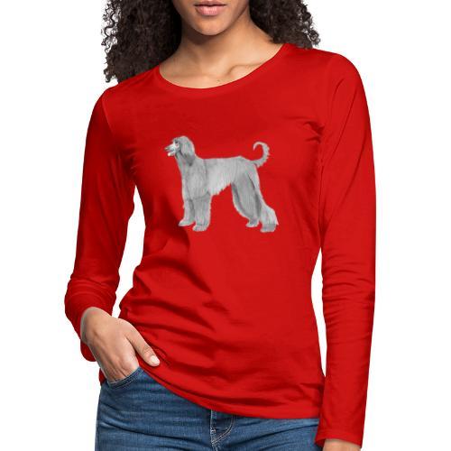 afghanskMynde - Dame premium T-shirt med lange ærmer