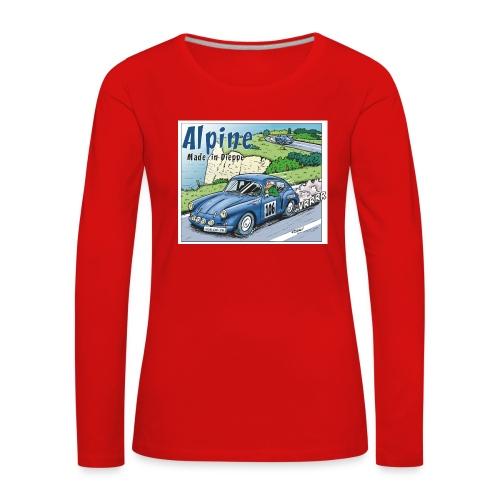 Polete en Alpine 106 - T-shirt manches longues Premium Femme