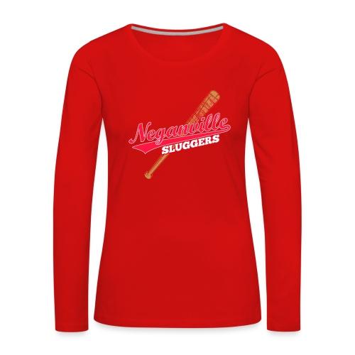 Neganville Sluggers - Women's Premium Longsleeve Shirt