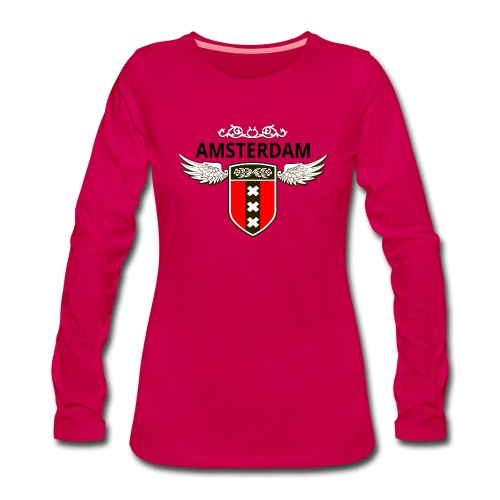 Amsterdam Netherlands - Frauen Premium Langarmshirt