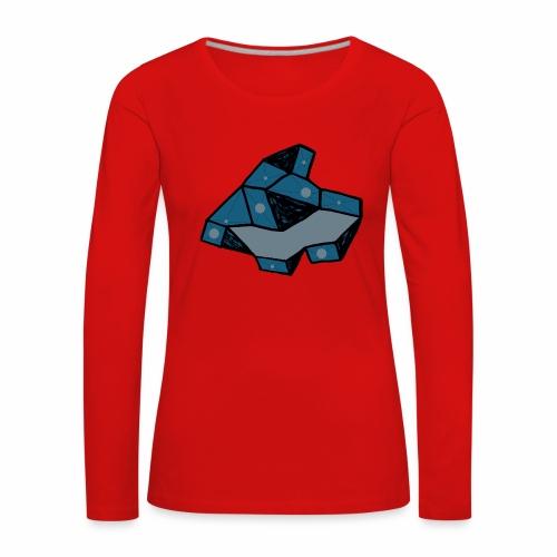 dot rock - Vrouwen Premium shirt met lange mouwen
