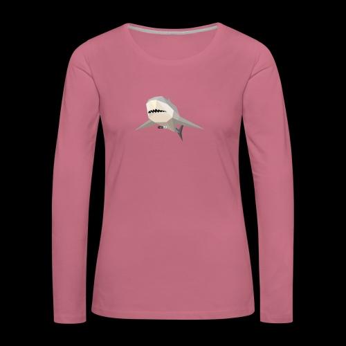 SHARK COLLECTION - Maglietta Premium a manica lunga da donna