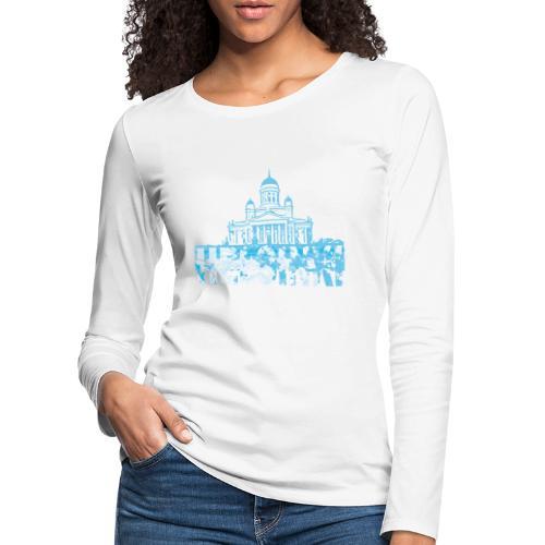 Helsinki Cathedral - Women's Premium Longsleeve Shirt
