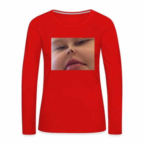 Sexy Man - Långärmad premium-T-shirt dam