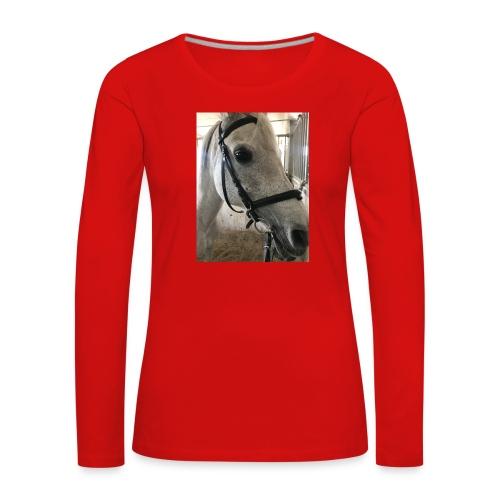 9AF36D46 95C1 4E6C 8DAC 5943A5A0879D - Premium langermet T-skjorte for kvinner