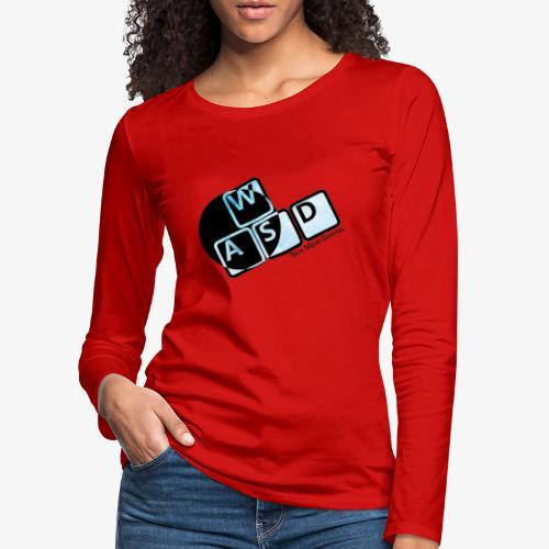 WASD TM Gaming - Women's Premium Longsleeve Shirt