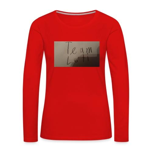 Team Luti - Frauen Premium Langarmshirt