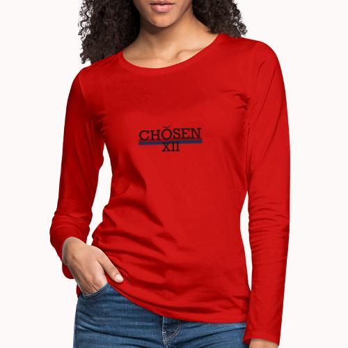 ChosenXII - Vrouwen Premium shirt met lange mouwen
