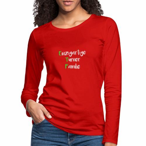 ETF - Frauen Premium Langarmshirt