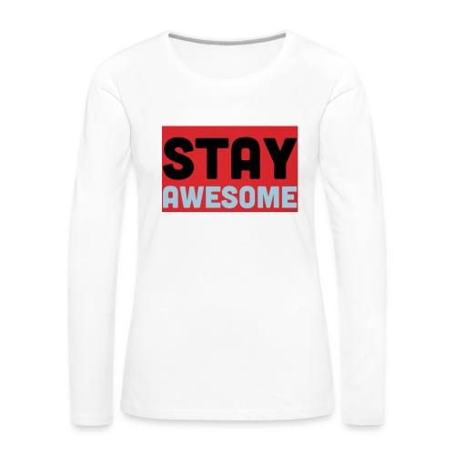 425AEEFD 7DFC 4027 B818 49FD9A7CE93D - Women's Premium Longsleeve Shirt