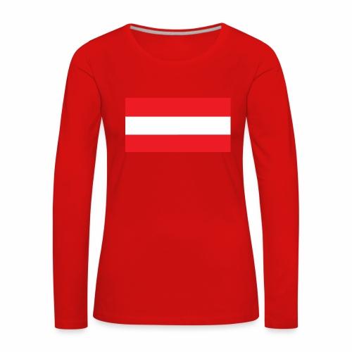 Oesterreich Weltmeisterschaft Fußball - Frauen Premium Langarmshirt
