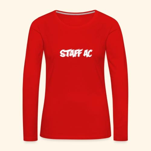 staffac - Maglietta Premium a manica lunga da donna