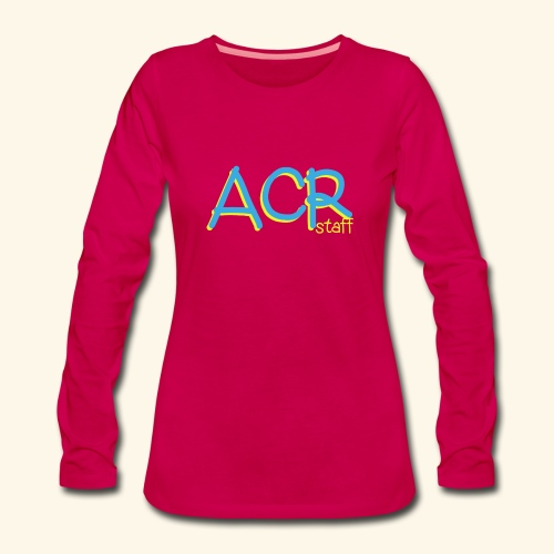 ACR - Maglietta Premium a manica lunga da donna