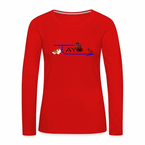 Tayola Black - T-shirt manches longues Premium Femme
