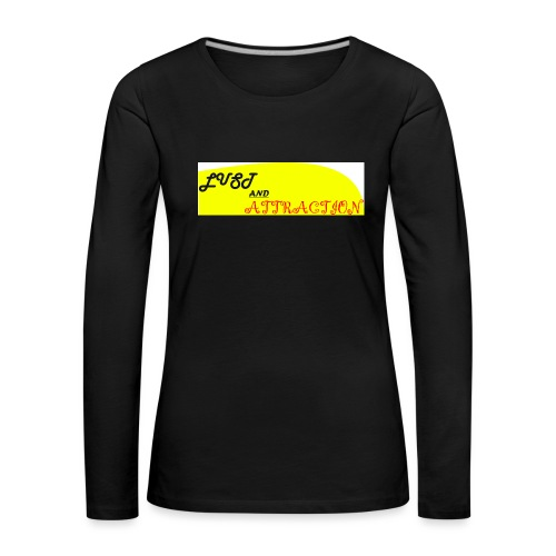 lust ans attraction - Women's Premium Longsleeve Shirt