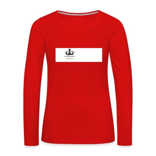 william - Women's Premium Longsleeve Shirt