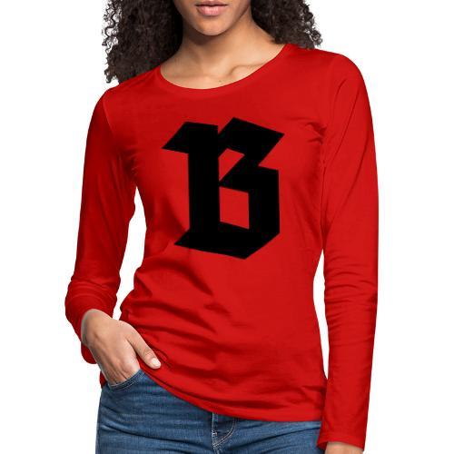 (B) Belgium - T-shirt manches longues Premium Femme