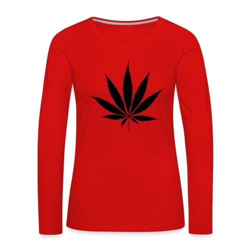 Weedblatt - Women's Premium Longsleeve Shirt