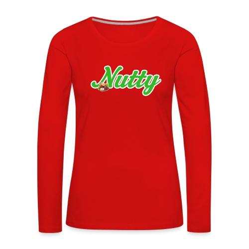 Nutty - Frauen Premium Langarmshirt