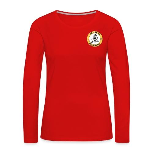 logo minadorf - Frauen Premium Langarmshirt
