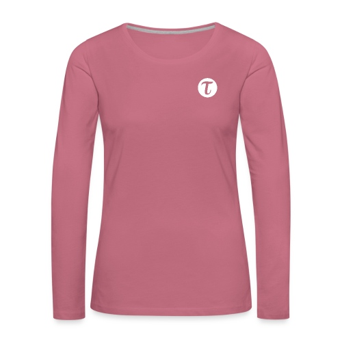 Tau logo iso inv vaate png - Naisten premium pitkähihainen t-paita