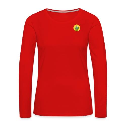 Monarquia Brasil - Premium langermet T-skjorte for kvinner