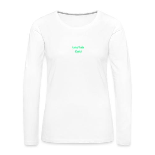 LetsTalk ColU - Women's Premium Longsleeve Shirt