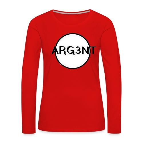 ARG3NT - T-shirt manches longues Premium Femme