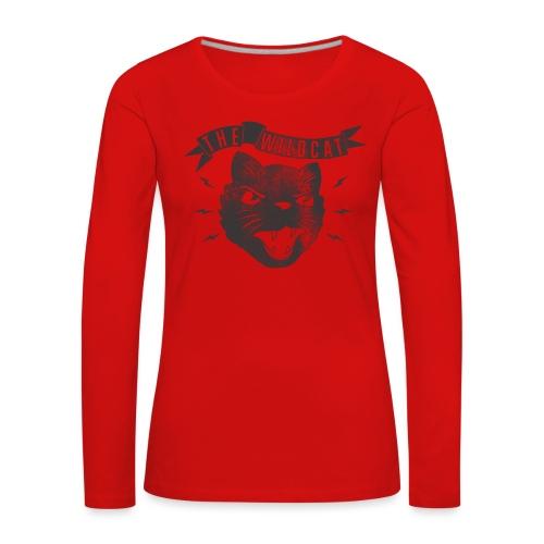The Wildcat - Frauen Premium Langarmshirt