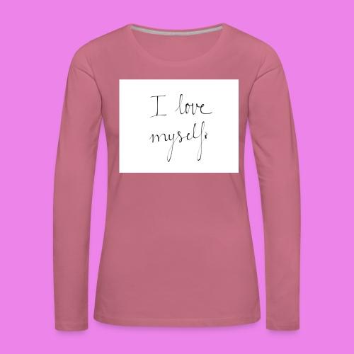 tumblr nhfkg479nQ1u66e4no1 1280 - Women's Premium Longsleeve Shirt