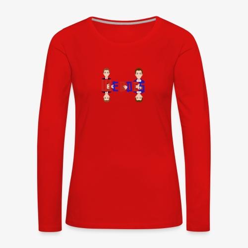 Webdis - T-shirt manches longues Premium Femme