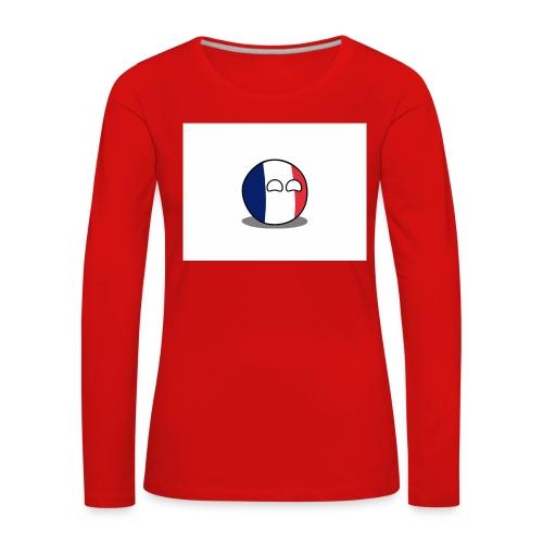 France Simple - T-shirt manches longues Premium Femme