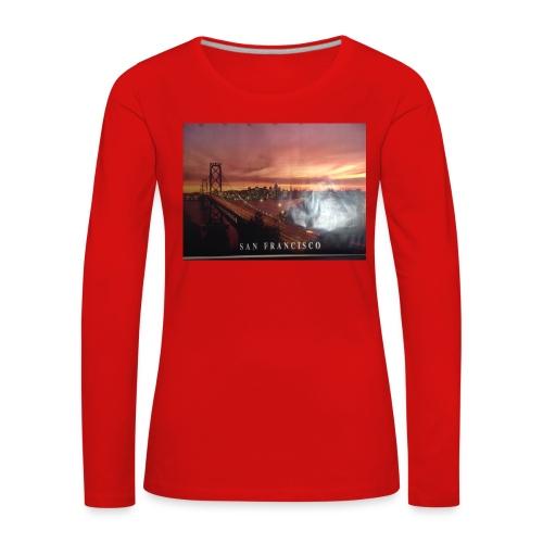 Geillllllloooooo - Frauen Premium Langarmshirt