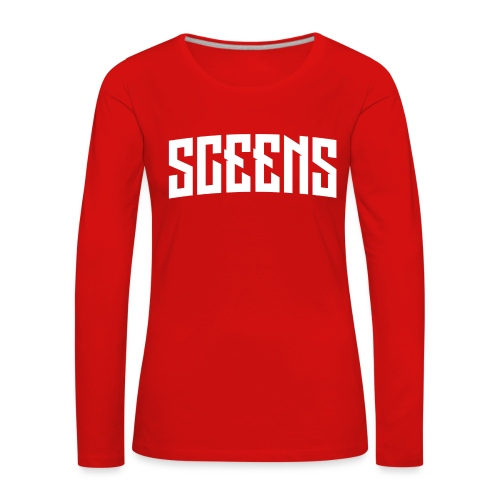 Sceens Premium T-Shirt Mannen - Vrouwen Premium shirt met lange mouwen