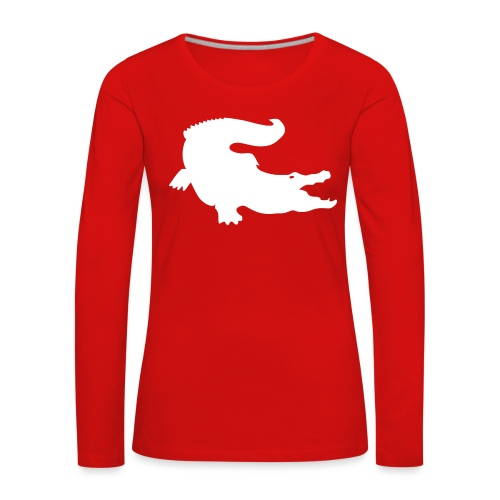 Metal Gear Online - Crocodile Rank - Maglietta Premium a manica lunga da donna