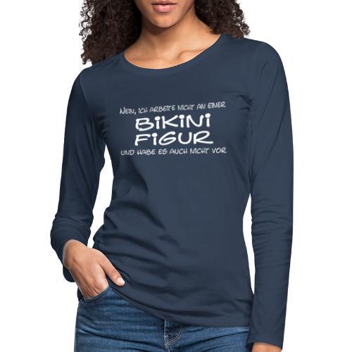 Bikinifigur - Frauen Premium Langarmshirt