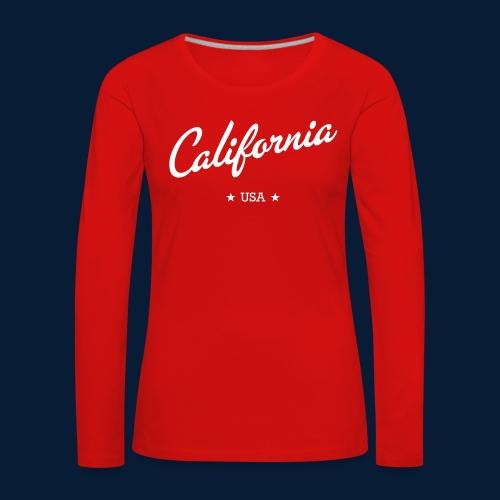 California - Frauen Premium Langarmshirt