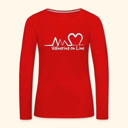 Valnerina On line APS maglie, felpe e accessori - Maglietta Premium a manica lunga da donna