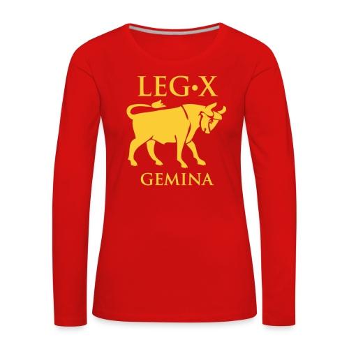 leg_x_gemina - Maglietta Premium a manica lunga da donna