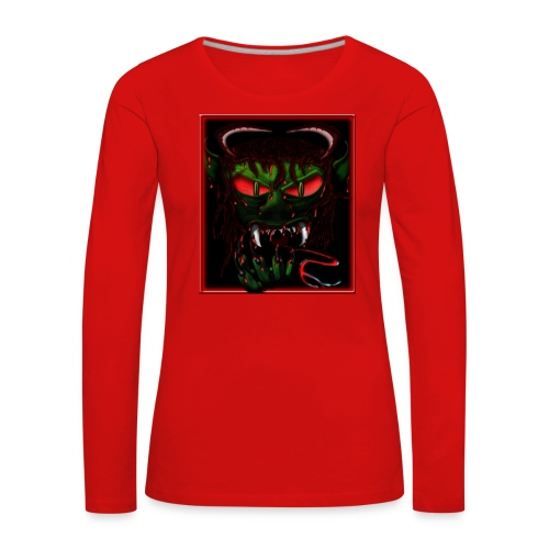 monster - Women's Premium Longsleeve Shirt