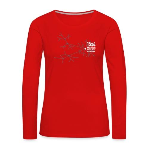 Neurons - Frauen Premium Langarmshirt