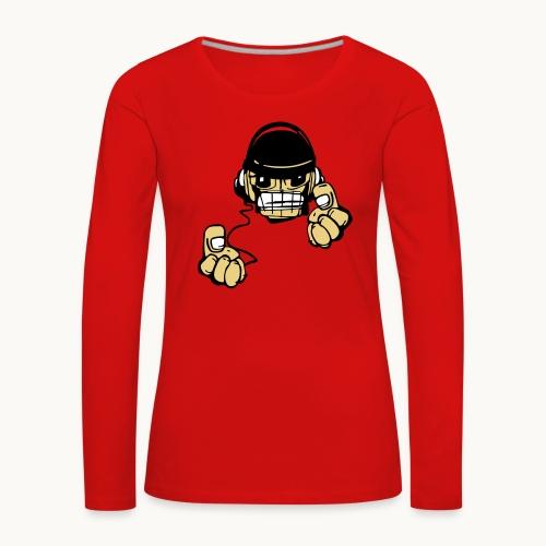 Micky DJ - T-shirt manches longues Premium Femme