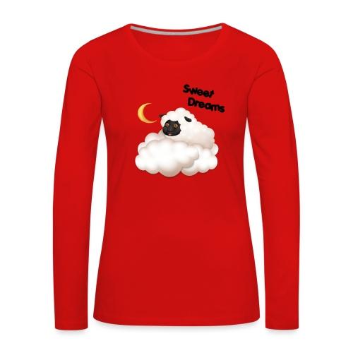 SMA Frodikin kauniit unelmat - Naisten premium pitkähihainen t-paita