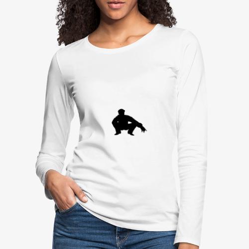 ''Take a squat'' Women's hoodie - Women's Premium Longsleeve Shirt
