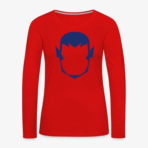 MASK 4 SUPER HERO - T-shirt manches longues Premium Femme