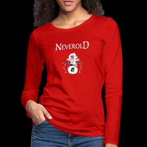 LOGO NEVEROLD - T-shirt manches longues Premium Femme